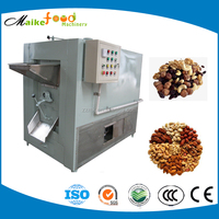 Commercial electric small corn roaster, soybean machine for sale