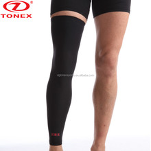 2017 New Long Design Breathable Elastic Compression Knee Brace Support Recovery Sleeve