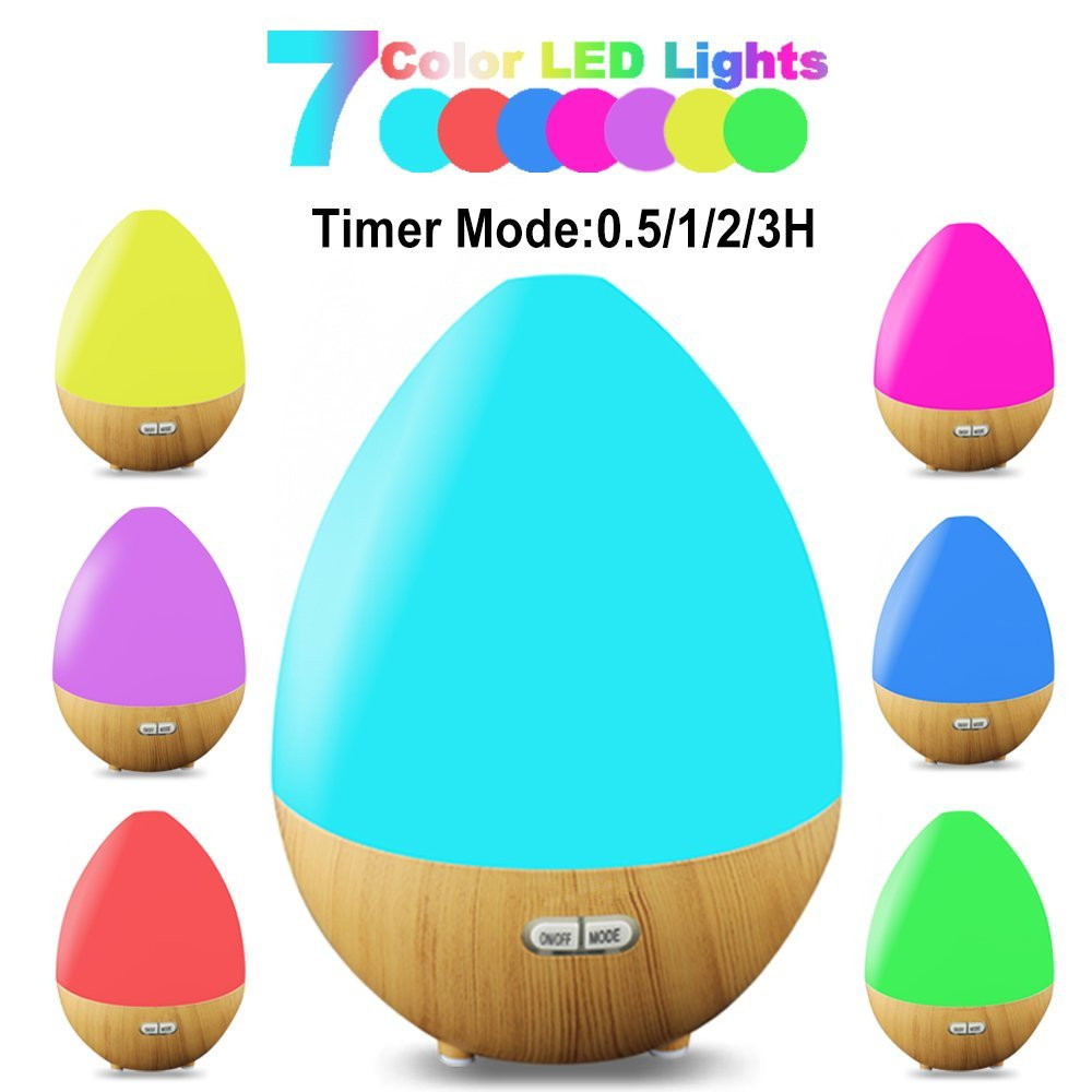 led light color charging wireless APP control aroma essential oil diffuser with bluetooth speaker