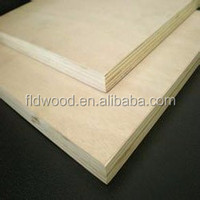 12mm commercial plywood sheets with poplar oak ash veneer