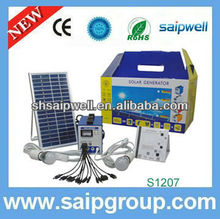 2013 New 12w solar and wind generator vertical axis