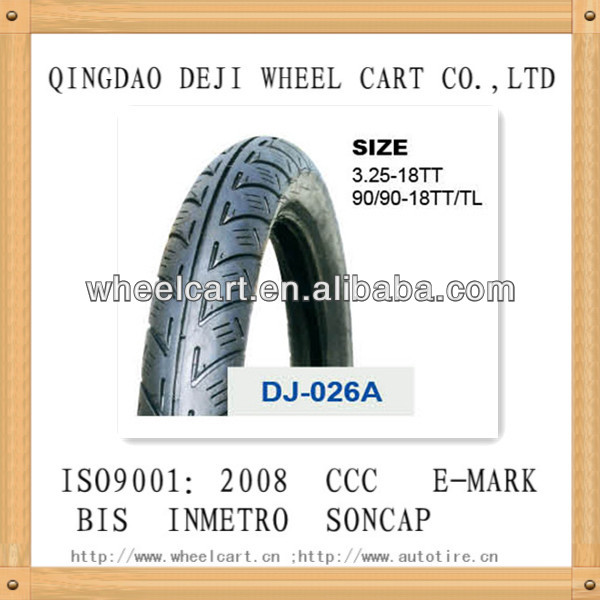 motorcycle tubeless tyre in dubai quality price for 3.50-10 TL