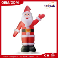 2016 HOT giant and Inflatable Santa Claus xmas decorations