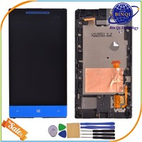 IN Stock brand new for HTC Windows Phone 8S LCD Touch Screen Digitizer with Frame Assembly