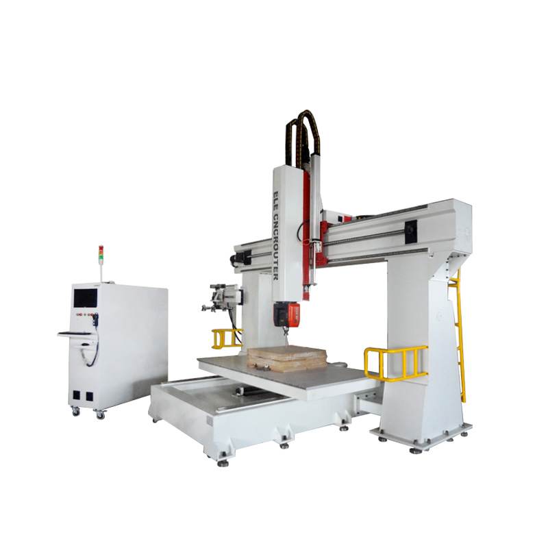 1224 Chinese Homemade 5-axis Cnc Machine for Wood Art , Wood Cnc Router