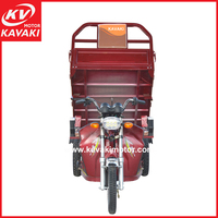 1000w Electro-tricycle With Cabin For Pedal Cargo Tricycle
