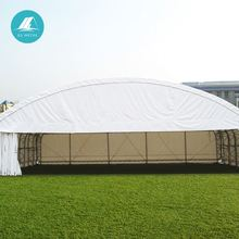 space frame fire proof steel structre aviation airplane tent price