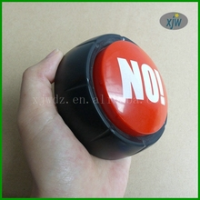 Plastic round animal sounds button with custom color pantone printed Long Duration Time Voice Recording Voice Buzzer