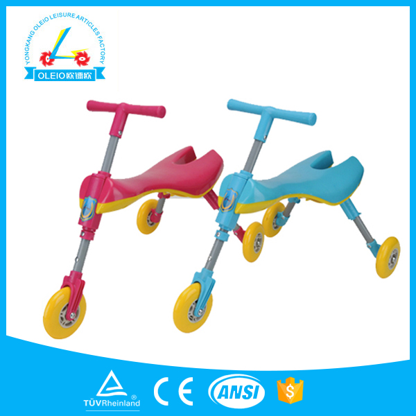 Factory direct sale three Wheel Hand Push Children car /Baby Tricycle