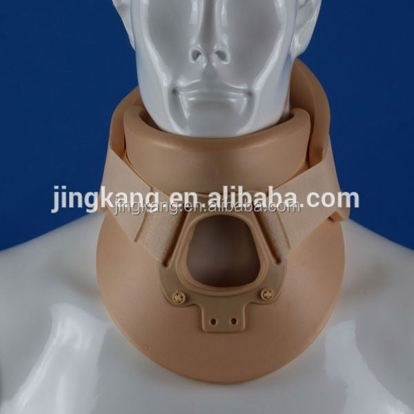 Health care product Rigid Plastic Medical foam Cervical Neck Collars adjustable cervical collar cervical traction equipment