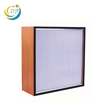 China reliable manufacturers durable high quality Deep pleat hepa filter