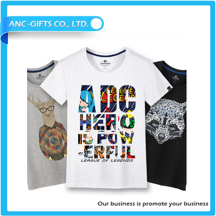 custom design fancy cartoon comfortable and high quality t shirt turkey wholesale for men