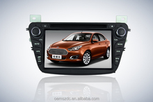 "7"" Touch Screen car audio AM/FM multimedia CD/DVD USB gps navigation for Forest"
