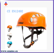 High Quality CE EN12492 Approved ABS Rock Climbing Helmet Safety Helmet