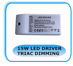 dimmable led controller 220V 48v 600mA 24W 48w Triac Dimmable led driver waterproof transformer manufacturer