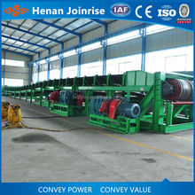 Over land gravity belt conveyor for mining with big capacity by Joinrise Mining Equipments