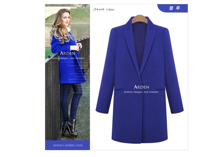 2015 Autumn And Winter Sales Of New Style Hot And Fashionable Temperament Coat 635 Xl-5xl