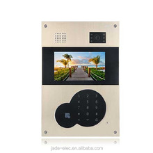 High Quality Jade SIP IP TCP Video Door Phone Remotely Unlock Multi Apartment Villa Building Smart Home