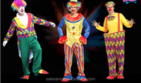 Halloween professional clown costumes circus costumes