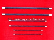 Straight Silicon carbide heating elements