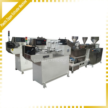 High speed Plastic PP /PE Zipper Extruder Machinery