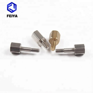Customized brass thread standoff screws