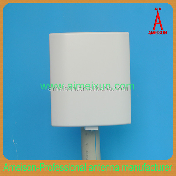 AMEISON 433.92 MHz Directional Wall Mount Flat Patch Panel 6 dBi ISM outdoor radio antenna