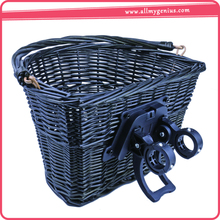 Wicker bike basket ,JenhqP wicker pet bicycle basket
