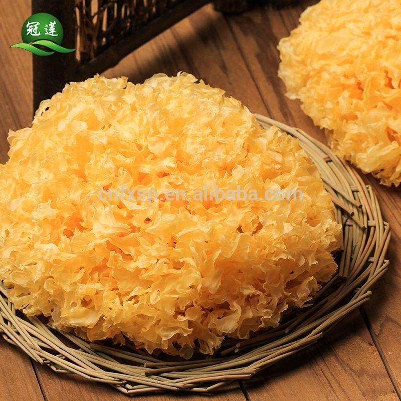 High quality from China White Fungus dried organic Tremella Mushrooms