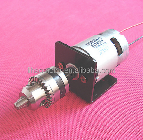 RS775 DC motor for drilling machine