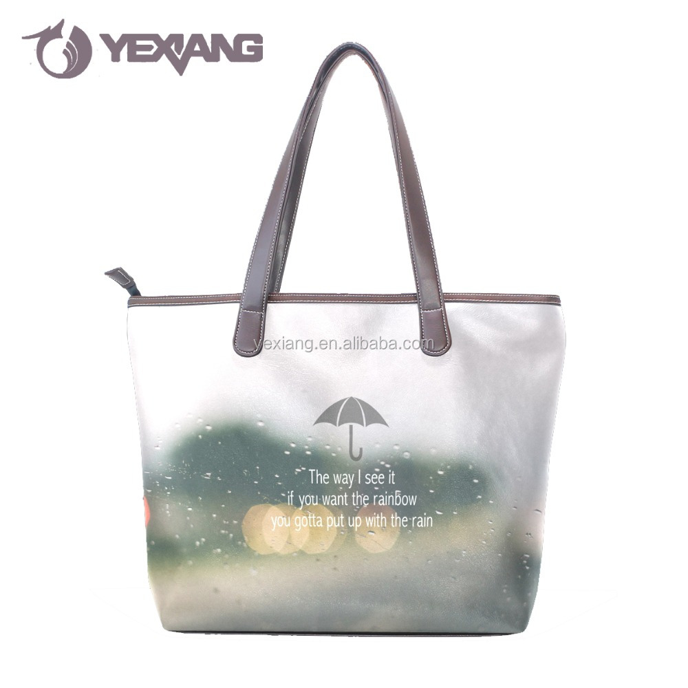 Custom design eco-friendly cloth foldable hand bag made in China hot sale fashion popular handbag