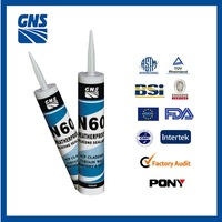 Transparent Empty Silicone Sealant Cartridge