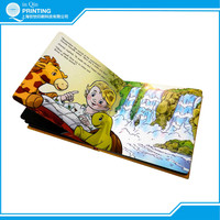 Full color child book printing with lamination in China