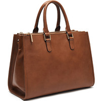 Classic style secret compartment bags woman genuine leather