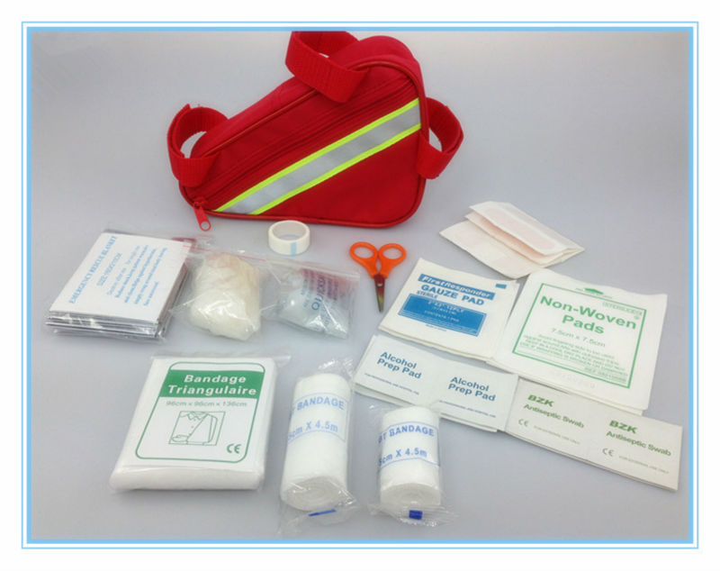 Hot sale emergency bicycle first aid kit contents list