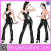 Halloween Top Cool Sexy Animal Black Catsuit Costume