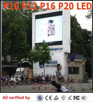 pass ce&rosh xxx video play led display p10 p12 p16 p20 / High Birghtness stage Panel p8 10 Led Display wall