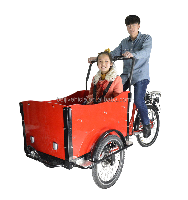 Adult electric pedal cargo bajaj tricycle
