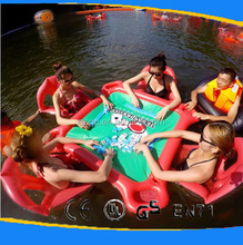 inflatable swimming pool/table/floating bed/floating row/chairs