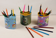 Personalized factory pen metal tin pencil holder