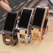 pedometer men bracelet watch, smart phone bracelet with viberating and answer call phone bracelet