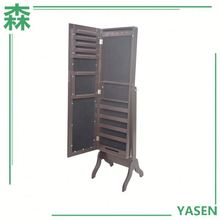 Aneway Houseware High Quality Jewelry Collection Cabinet,Standing Mirror Jewelry Cabinet