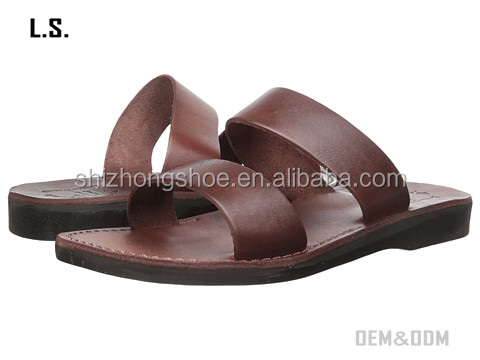 Arabic style shoes factory selling customized sandal for bulk order