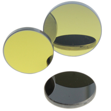 High reflectivity Diameter 25.4mm thickness 3mm Silicon laser lens and mirror for laser cutting