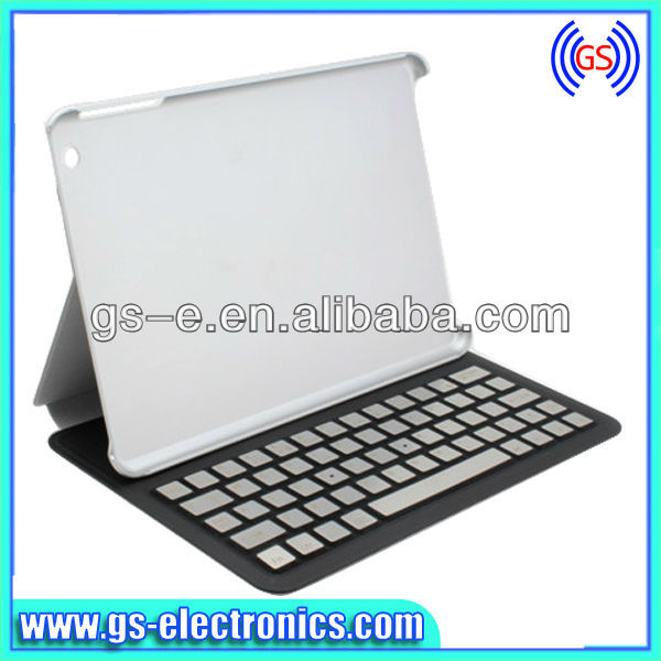 Hot Seller 360 rotation aluminium bluetooth keyboard case for ipad mini/air