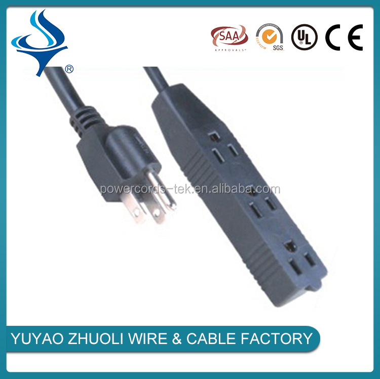 China supplier electrical extension cords