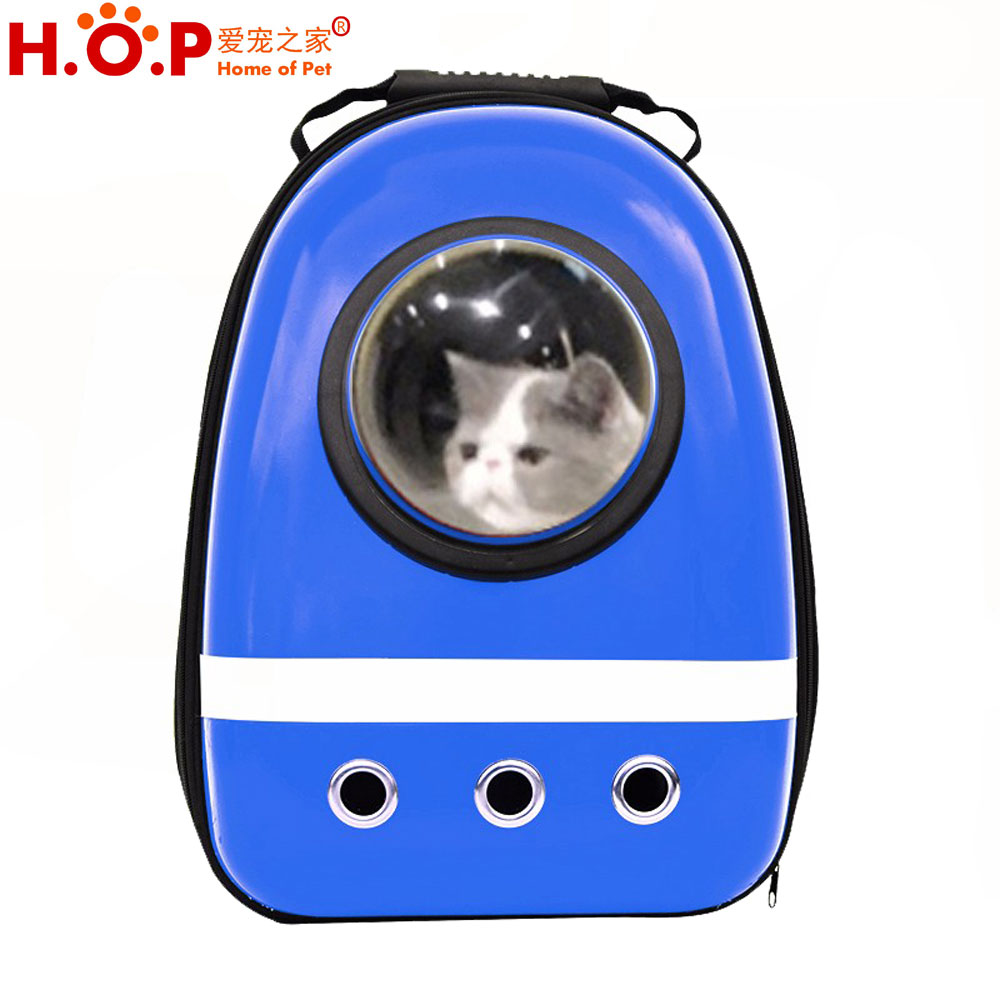 Space Capsule Shaped Pet Carrier Breathable Pet Dog Backpack Outside Travel Portable Cat Bags