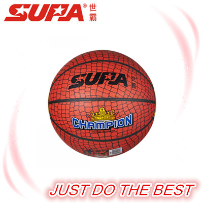 inflatable SUPA PVC laminated basketball