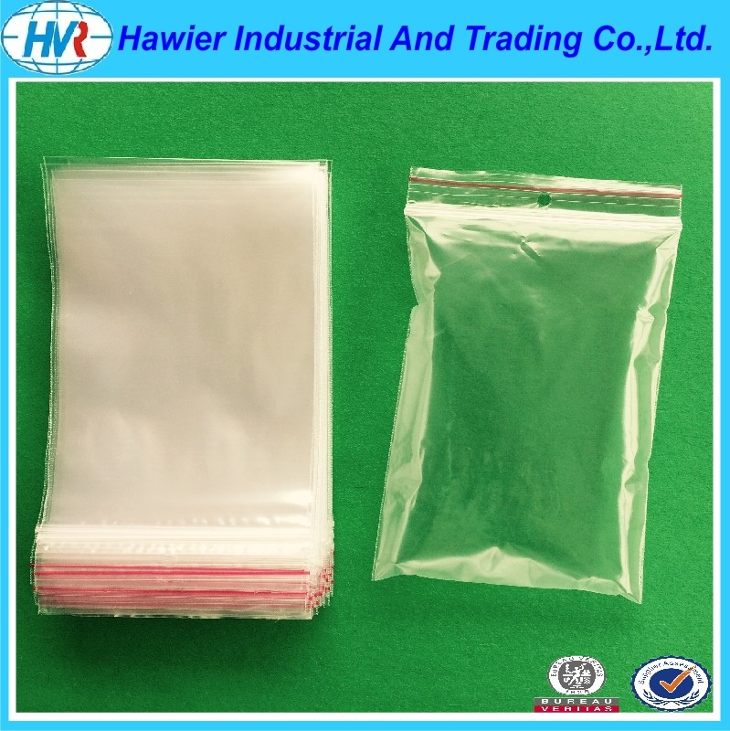 Hawier produce low density poly ziplock bag daily use