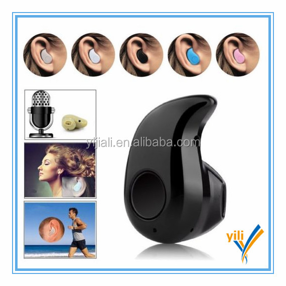 Mini Wireless Bluetooth 4.0 Stereo In-Ear Headset Earphone For smartphone